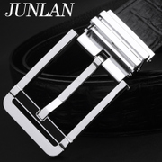 Joker JUNLAN luxury men's belts leather men pin the Korean version of authentic pure leather casual belt business