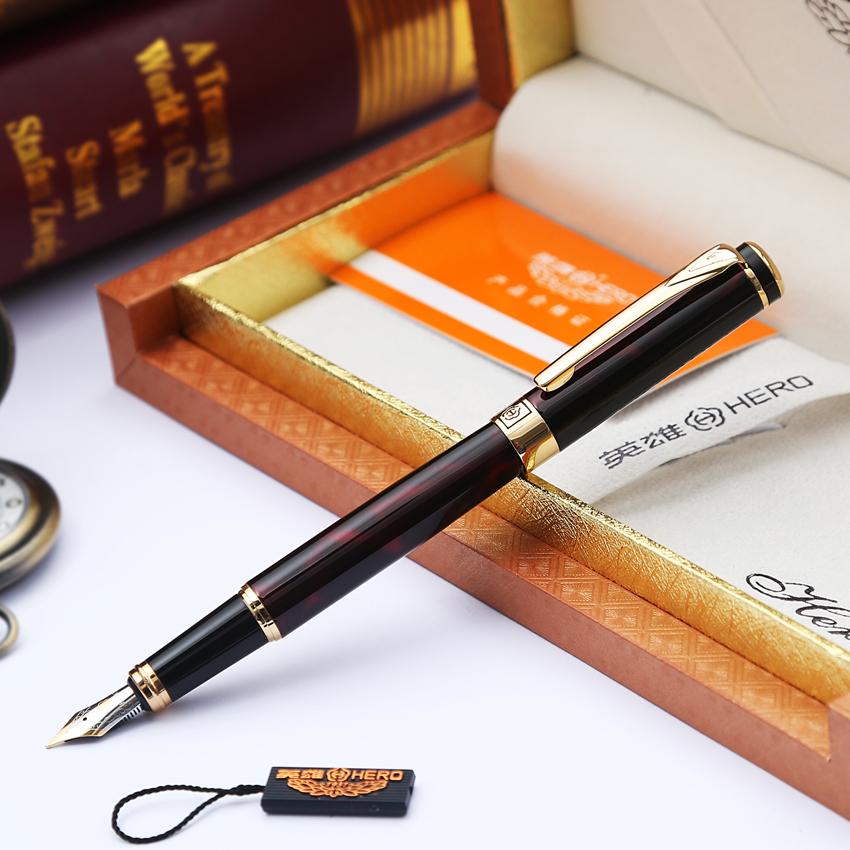 英雄鋼筆 英雄1078炫彩銥金筆 書法鋼筆 練字鋼筆 墨水筆