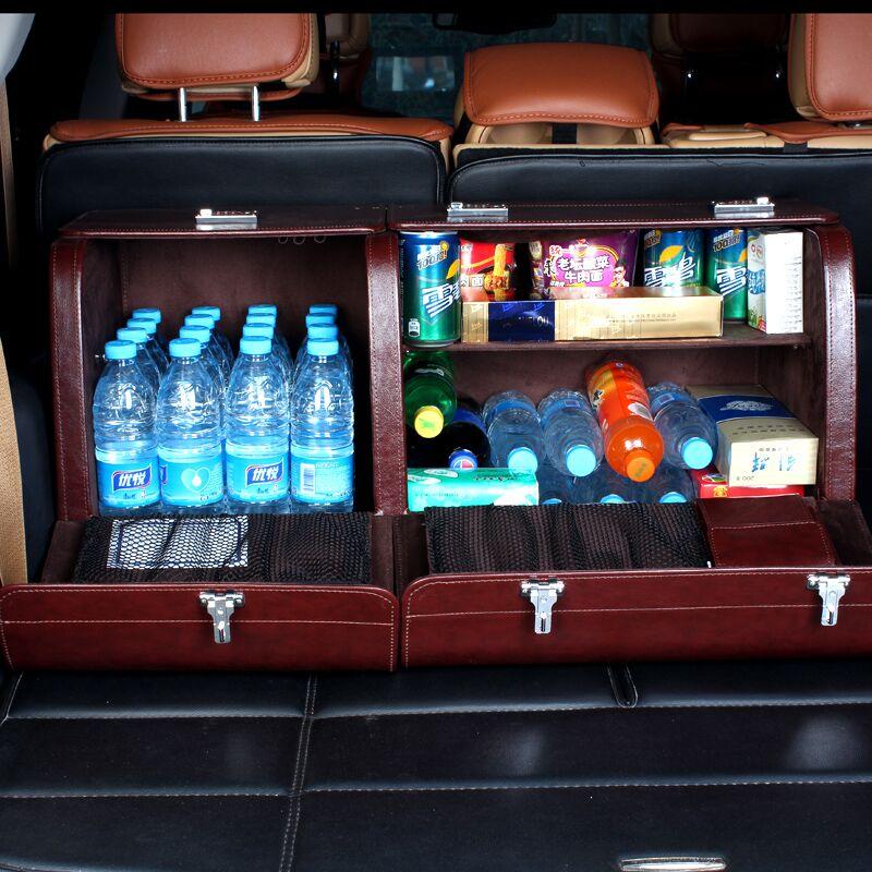 汽车储物箱后备箱收纳箱车用置物盒车载行李用品多功能尾箱整理箱
