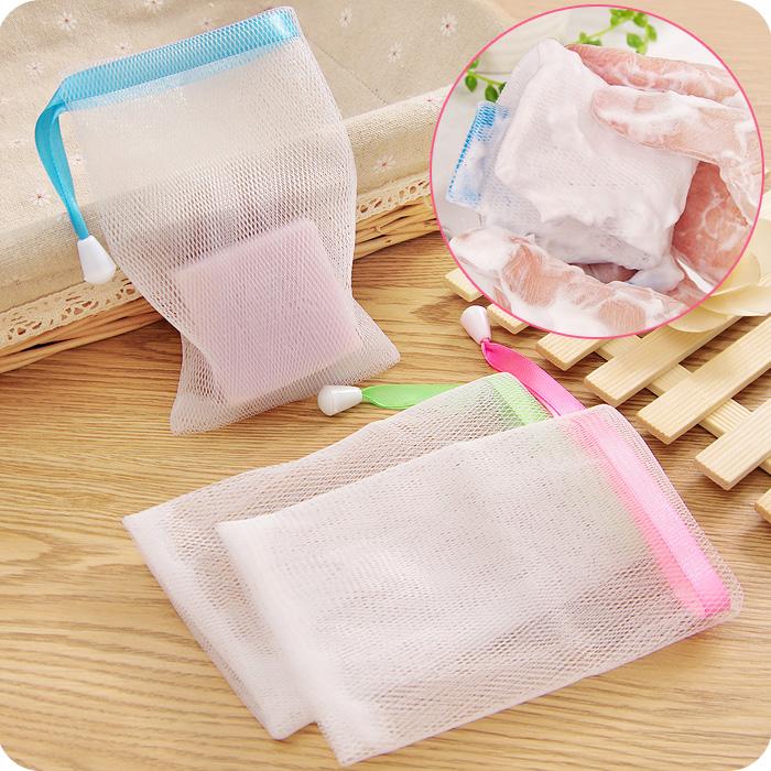 Японский пена очистка мыть ручной работы мыло пузырь чистый ванна facial cleanser борьба пузырь чистый могут быть связаны туалетное мыло пузырь мешок