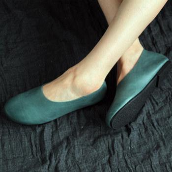 烁掌柜原创款复古文艺范舒适森女鞋