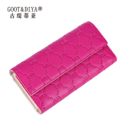Gu Ti di ya 2015 new European and American fashion Lady hand bag purse wallet luxury leather wallet
