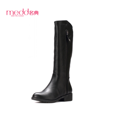 Name code 2015 winter Jiping Martin boots with flat women boots high boots over the knee boots, side zipper boot