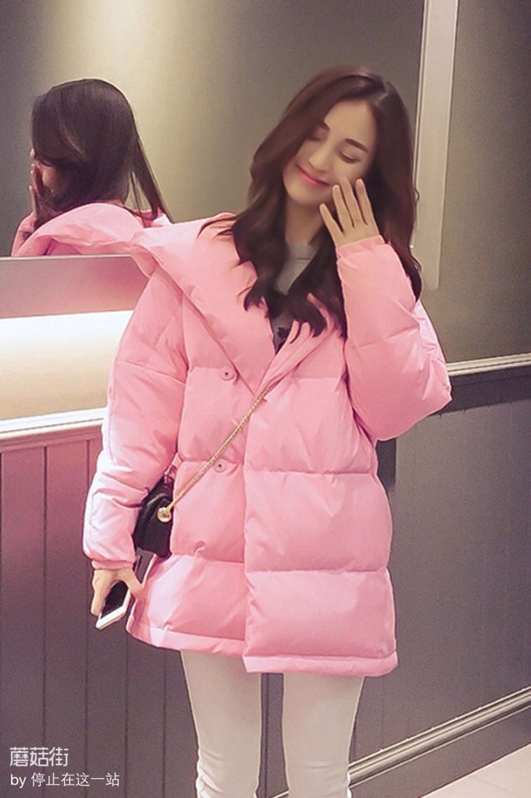 Хлеб пальто хлопка костюмы осень/зимы женщин новый корейский моды