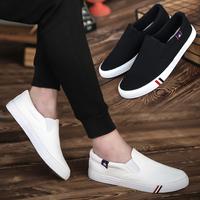 2017 новый летний мужской холст обувь корейская волна струиться мужская обувь обувь ткань обувная удар удаление бездельник обувь casual волна