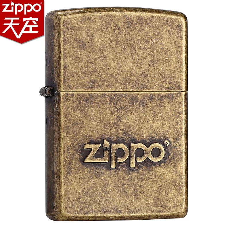 Mỹ nhẹ ban đầu ZIPPO chính hãng bằng đồng thật kho báu logo 28994 quà tặng ZPPO chống gió - Bật lửa