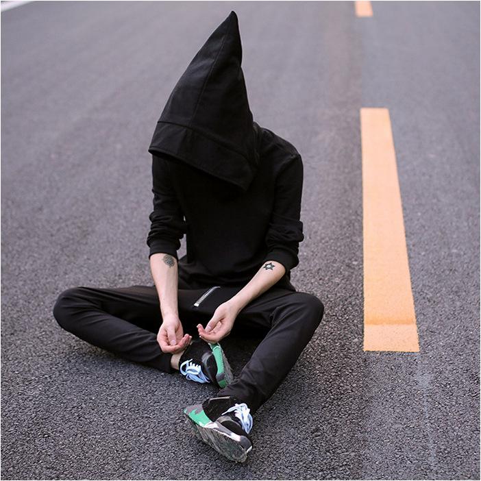 Одежда мужская с длинным рукавом свитера подростков ежедневно ведьма шляпа Свитер спортивный свитер