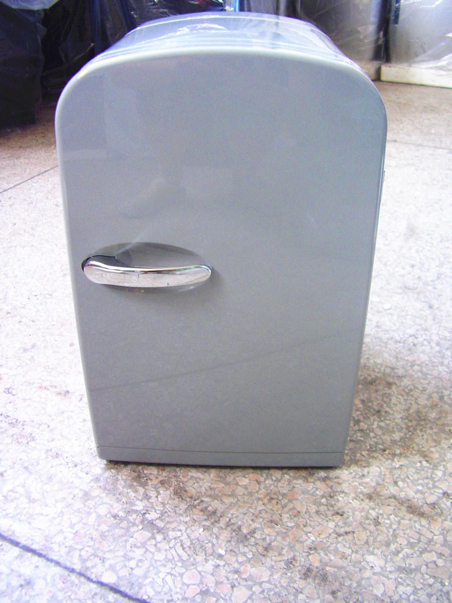 White Fox/ песец XHC-6 горячая и холодная двойной небольшой холодильник составить статья коробка сохранение коробка половина руководство корпус холодильник