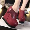 2016 new wedge ankle boot women's boots