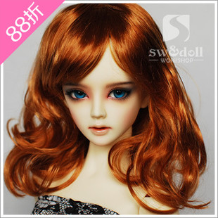 BJD wig t 3 points 4 points 6 points 8 points 12 JW026 pear volume jerryberry multicolor imitation mohair