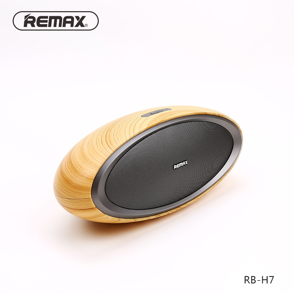 Remax桌面蓝牙音箱便携无线蓝牙音响 手机电脑连接低音炮香港品牌