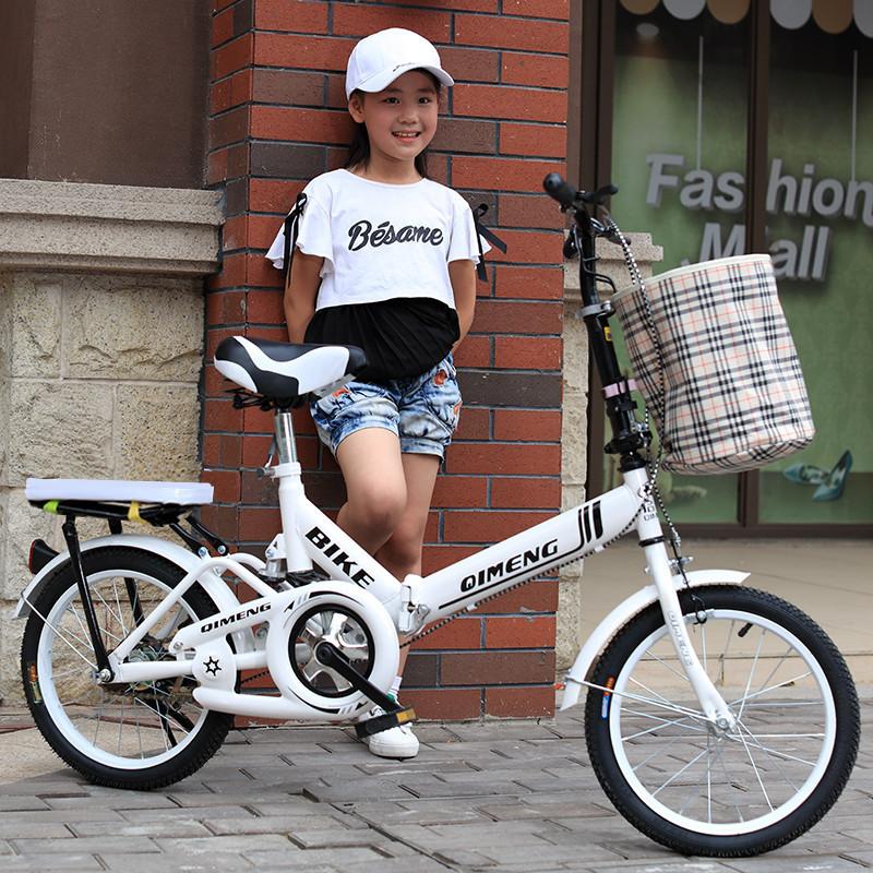 Новый ребенок велосипед складные велосипеды 16/20 дюймовый 6-12-18 лет мужской и женщины ребенок ученик одиночная машина затухание бесплатная доставка