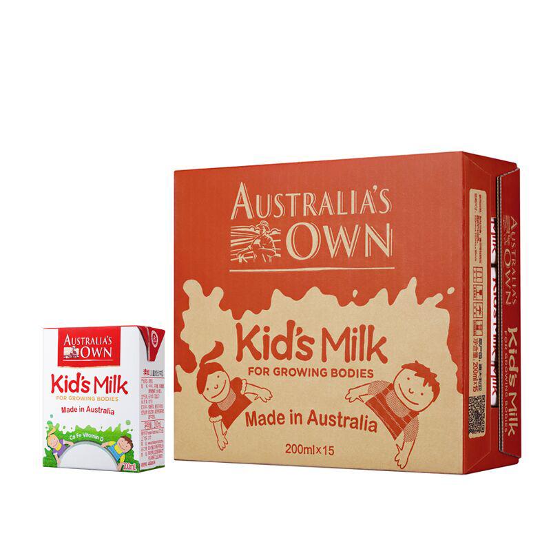 ~天貓超市~澳大利亞  澳牧 兒童成長牛奶200ml^~15裝