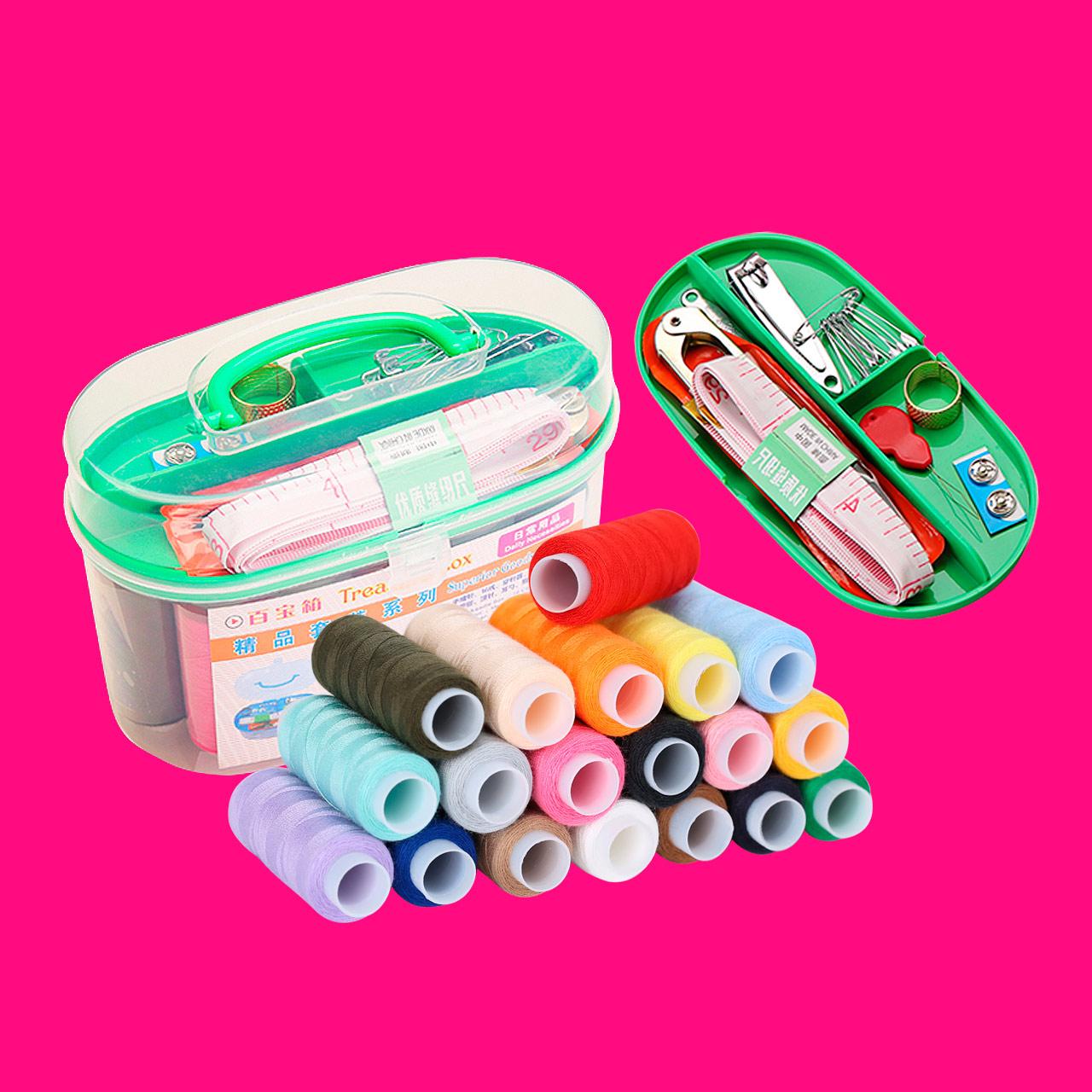19 цвет линии портативный рукоделие набор шить линия домой дары когда выбранный купить подарок десять вес монтаж