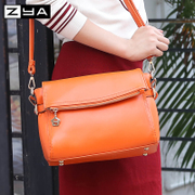 Bags women bag 2015 new Korean version of the popular diagonal leisure ladies shoulder handbag soft leather Crossbody bag