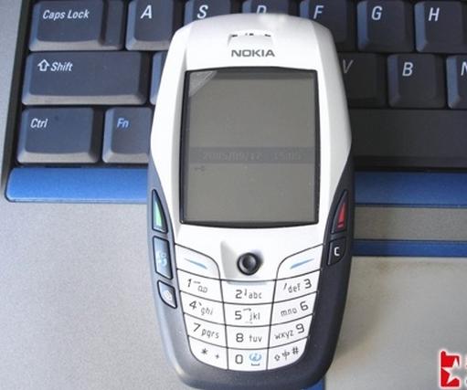 Nokia/诺基亚6600 肥6 怀旧收藏大方超薄经典翻盖备用二手手机