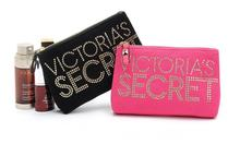Victoria's latest contracted hot word LOGO makeup bag hand bag to receive bag