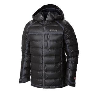 哥伦比亚户外男装防水防风加厚保暖鹅绒滑雪服羽绒服WE1115