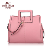 Beach mice 2015 new European fashion suede leather shoulder handbag OL classic simplicity in the workplace women bags