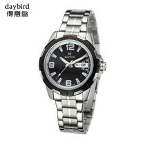 Daybird得意鸟2013石英机芯手表防水休闲韩版男学生日历国产腕表