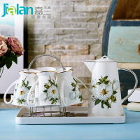 Домой чашки установите творческий континентальный вода инструмент чашка чайный сервиз керамика чашка костяной фарфор холодная вода чайный набор