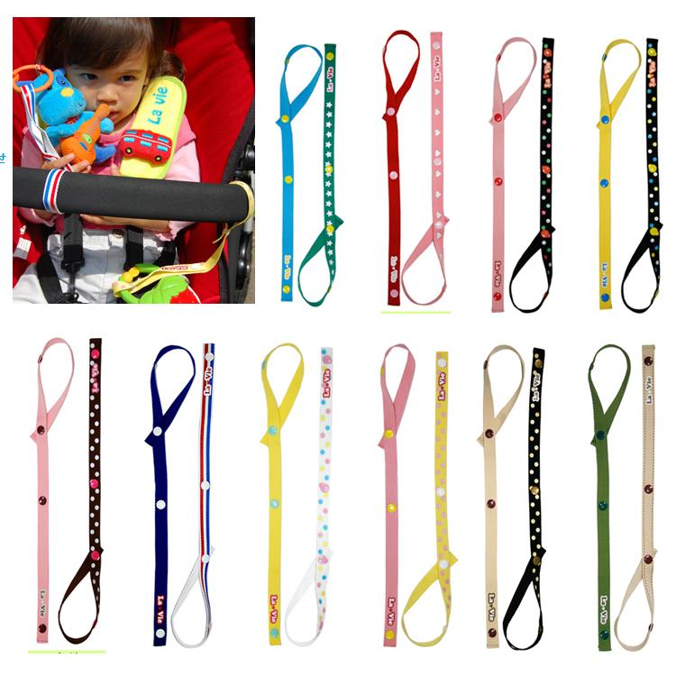 1號 人氣寶寶鏈玩具掛繩 嬰兒推車綁帶牙膠鏈安撫奶嘴鏈夾防掉帶