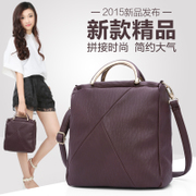 ZYA Korean version of simple mosaic female Ms Bao Qiu Chao mobile postman baodan shoulder bag business commuter bag