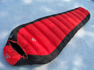 Cheap Mountain outdoor adult sleeping bag can fight Double white duck down 5 40 degrees fall and winter