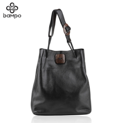 Banpo decorated shopping mall with new original real leather women bag in Europe and America the trend for fall/winter classic ladies shoulder bag