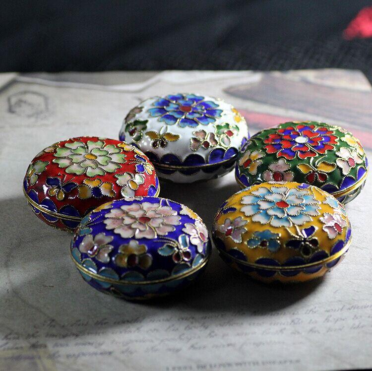 Подлинный старый пекин характеристика ремесла статья зажимать провод эмаль перегородчатой компактный подарок годовщина статья перегородчатой шкатулка