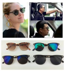 2723016永恒经典太阳镜驾驶镜男女情侣眼镜半框墨镜司机镜