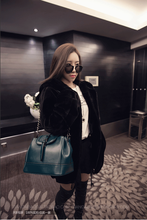 Bags fall 2015 new tide in Europe and America fashion chain single shoulder bag leather handbag belt bucket package inclined shoulder bag