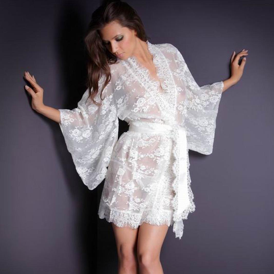 Прозрачный халат на 21 фотография
