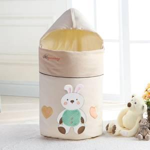 咪奇熊 宝宝睡袋春秋婴儿抱被夏季薄款纯棉新生儿包被四季空调房