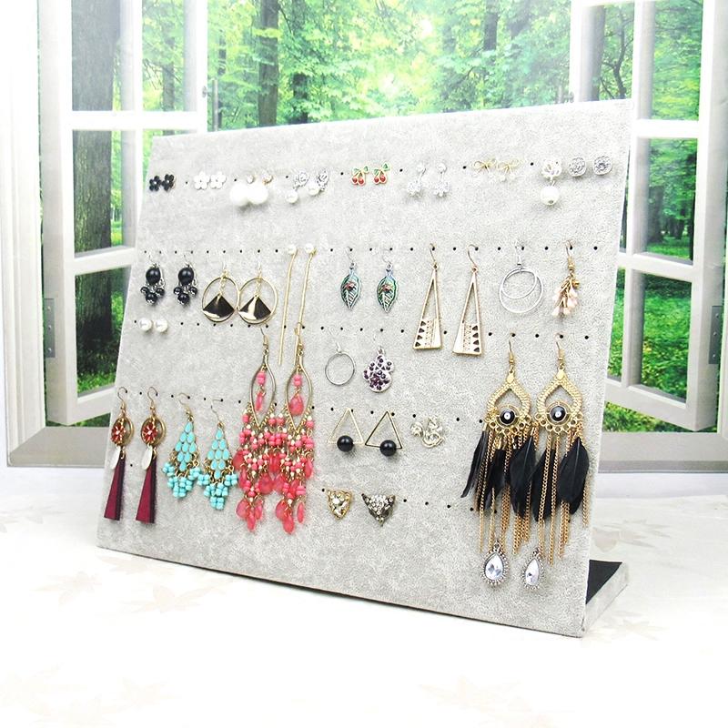 包邮绒布项链架子首饰架饰品展示架挂耳环耳钉展示板珠宝展示道具