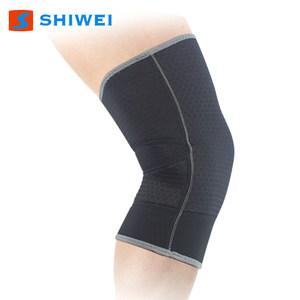 士威夏季运动护膝薄透气篮球跑步羽毛球登山骑行户外健身护具男女