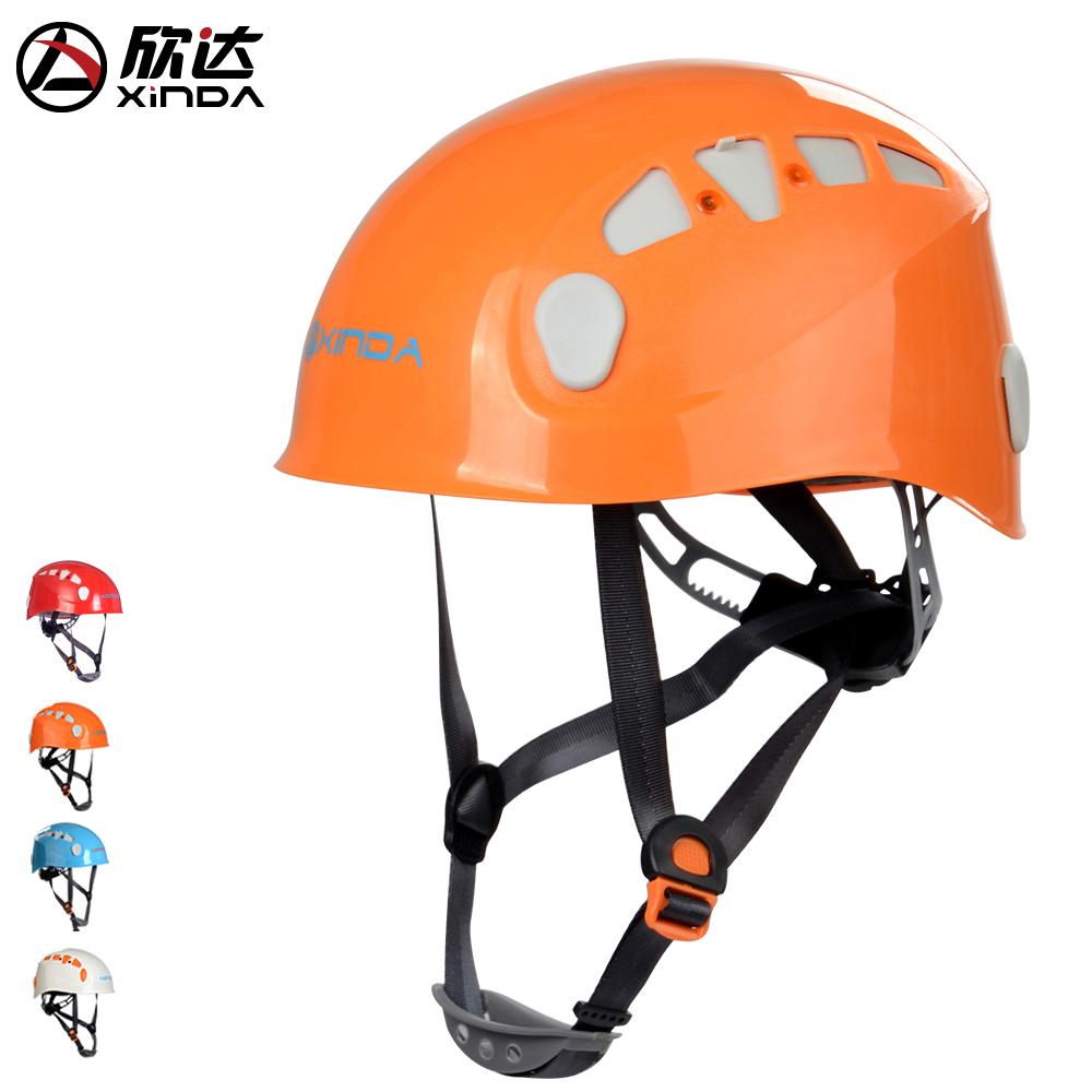 Xinda открытый спуск шлем восхождение шлем пещера спасательный шлем дрейфующих вверх по течению Xi An полностью шапка