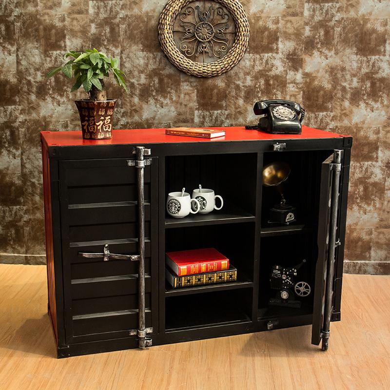 LOFT американский ретро коллекция упаковка комод шкаф железо кабинет творческий промышленность ветер личность хранение кабинет вино шоу кабинет