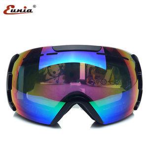 優尼雅滑雪鏡 雙層防霧 球面 大視野 雪地護目鏡 摩托車風鏡