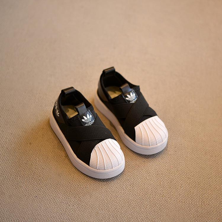 限时2件3折小孩儿童鞋子男童秋鞋秋季潮半板鞋