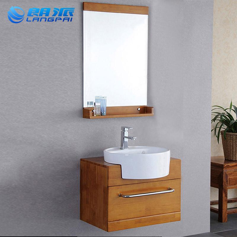 10月17日最新优惠简约现代小型橡木浴室柜组合卫生间卫浴柜洗手池洗脸盆洗漱台盆柜
