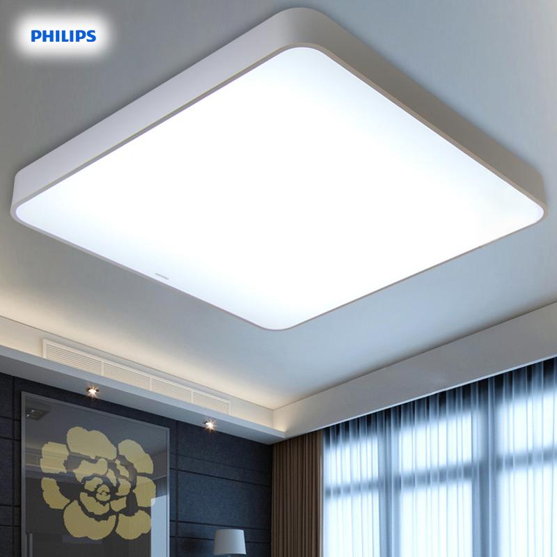 飞利浦照明led吸顶灯具客厅卧室长方形现代简约大气调光灯饰品轩
