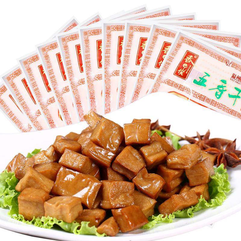 ~天貓超市~香巴佬 五香幹五香味72g^~10袋 零食 豆腐幹