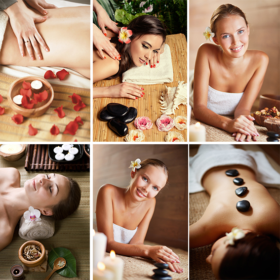 Beauty spa health salon massage nursing acupuncture health care wall chart beauty health poster making stickers