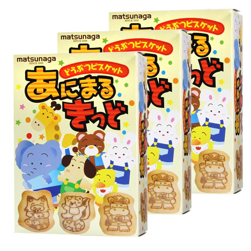 ~天貓超市~ 鬆永動物小餅幹35g^~3零食品曲奇糕點配牛奶