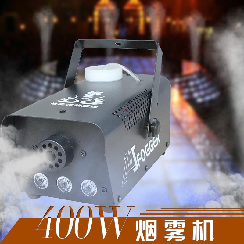 Пламя свет LED обесцвечивать 400W дистанционное управление капот этап дым туман машинально цвет дым туман волосы сырье устройство устройство этап освещение