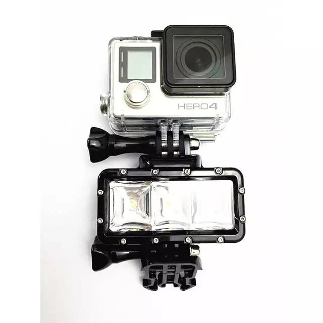 SJ7000 муравей Дайвинг GoPro гора собака свет водонепроницаемый свет заполнить свет видео камеры заполняющего света SJ400