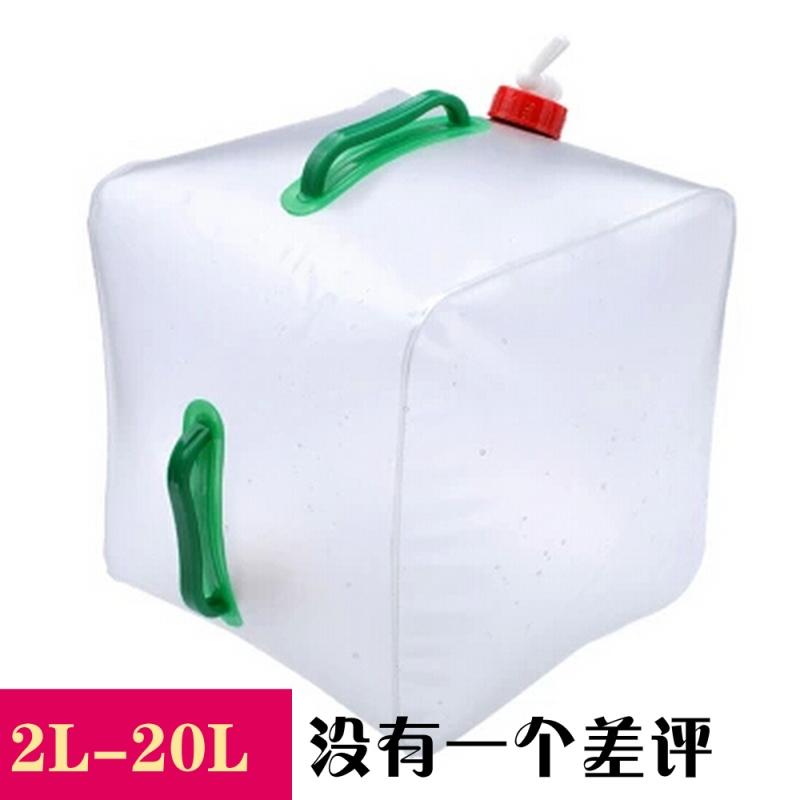 На открытом воздухе сложить гидратация PE пищевого охрана окружающей среды на открытом воздухе гидратация негабаритный складные магазин чайник напиток потребление воды баррель 20L