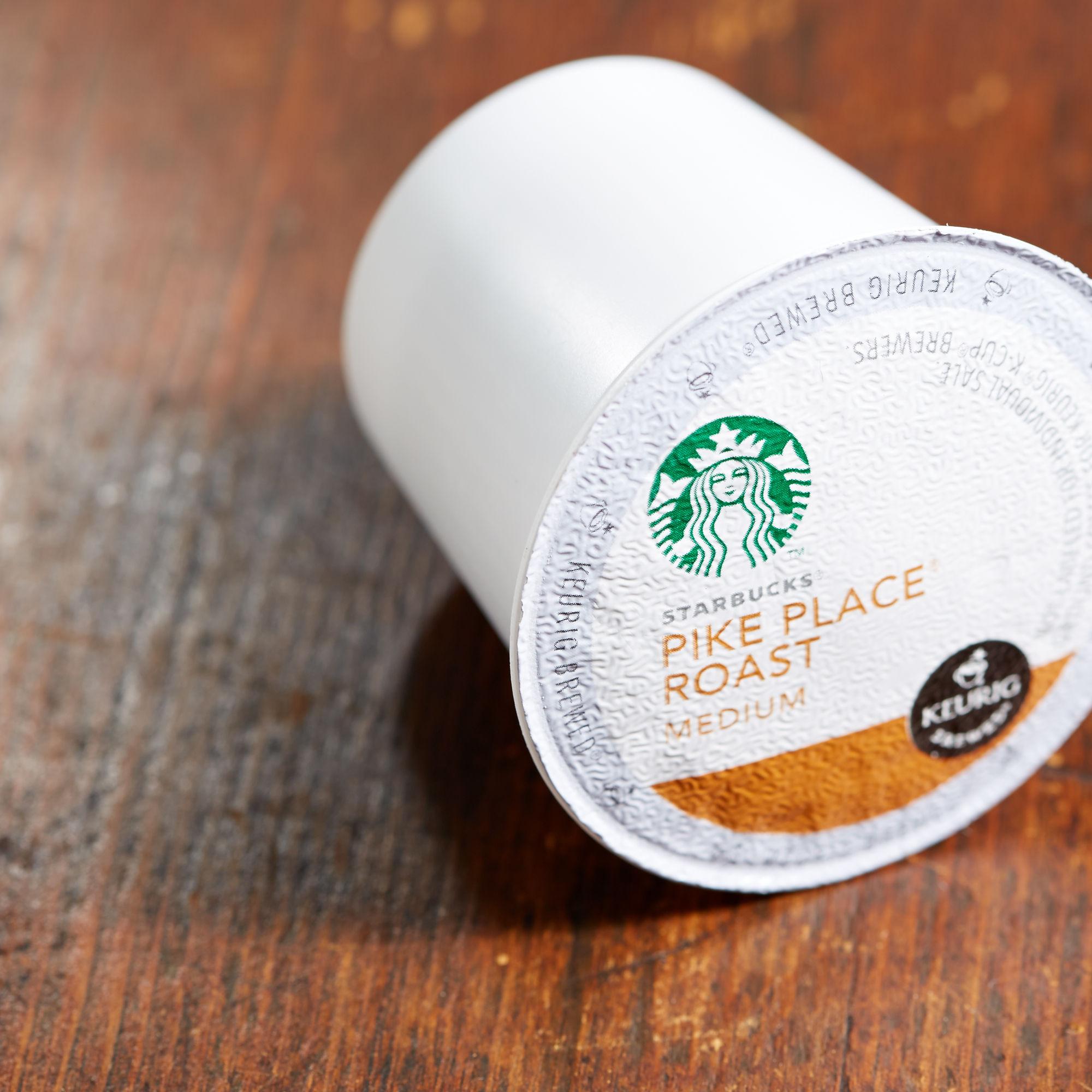Starbucks K-Cup-星巴克 Pike Place 派克市场烘焙 K-Cup咖啡24杯