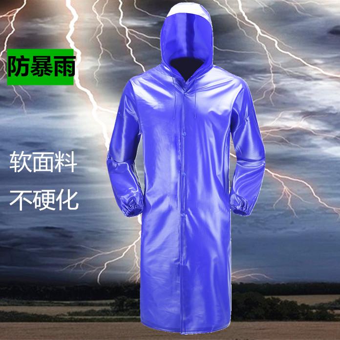 �渭��L款雨衣防雨防水防�L雨衣工地�r用雨衣耐用牛筋�p便�B�w�L衣